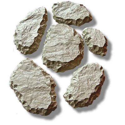 Брусчатка, набор 6 камней 3066/1