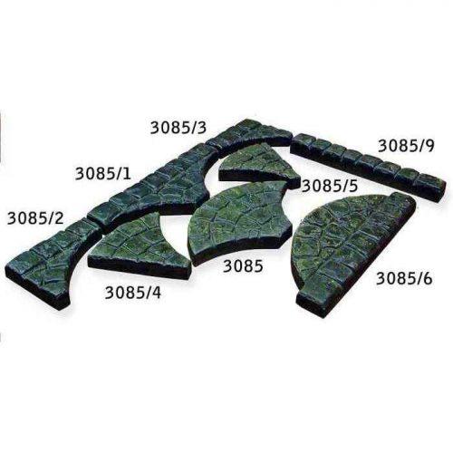 Тротуарная плитка Веер 3085