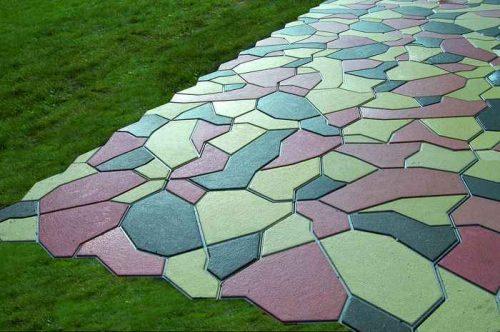 Тротуарная плитка Брекча 3099