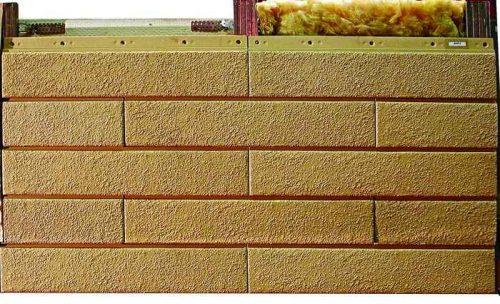 Вентилируемые фасады Сайдинг 4014