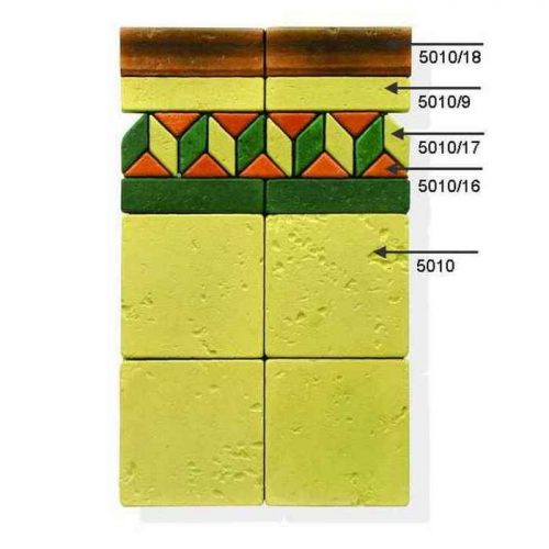 Плитка для декоративной мозаики 5010i