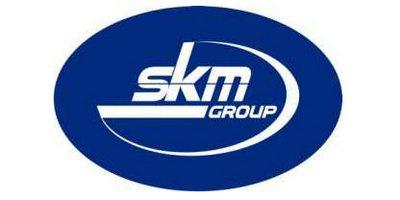 SKM group. Логотип