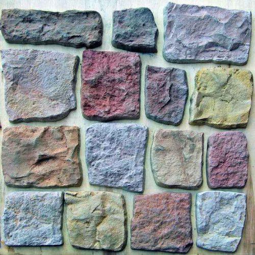 Дикий камень, набор из 16 камней 3081