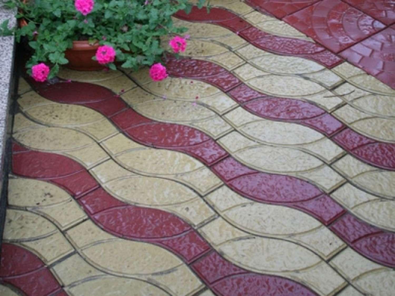Тротуарная плитка Радуга