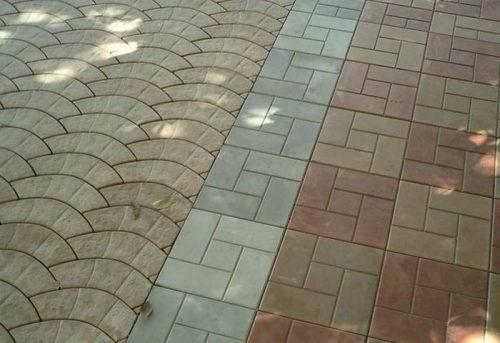 Укладка тротуарной плитки Бананы 3026