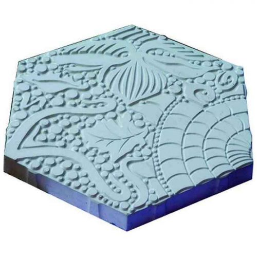 Тротуарная плитка Спираль 3111