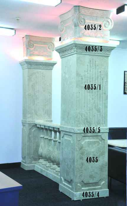 Декоративная колонна 4035
