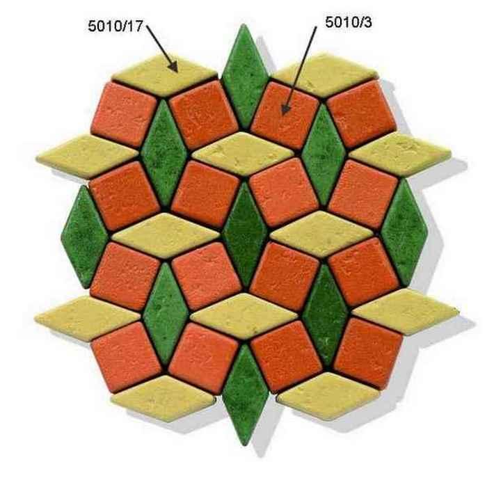 Мозаика из плитки 5010b