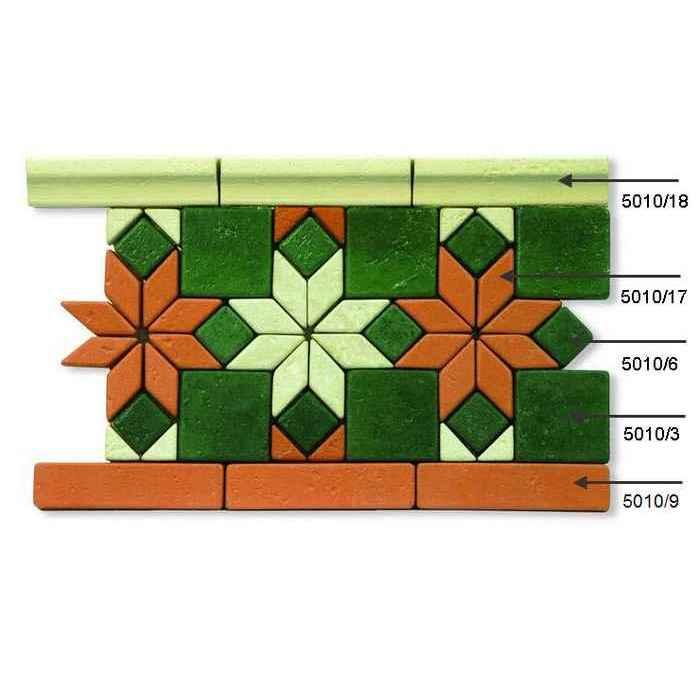 Набор плитки для мозаики 5010d