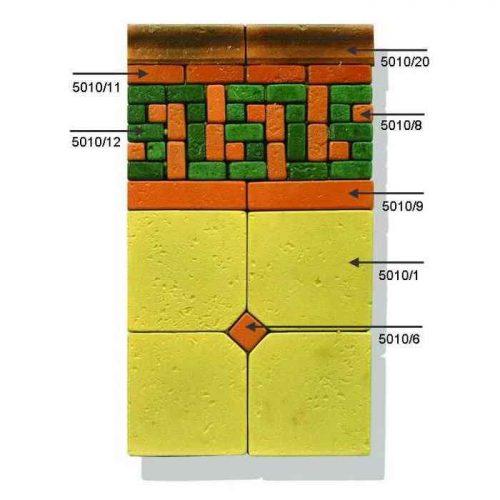 Цветная мозаика 5010h