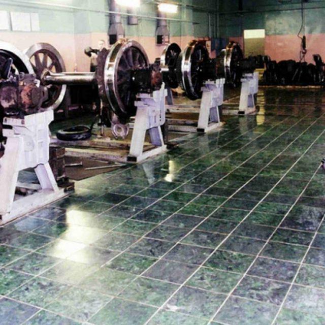 Напольная плитка для производственных помещений
